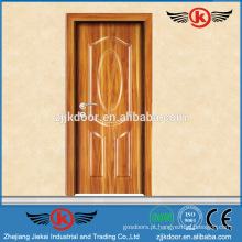 JK-MW9011 venda quente de melamina porta de madeira painel de madeira agradável fachada