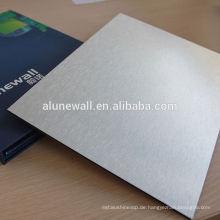 4mm PVDFTV Backboard Aluminium Verbundplatte
