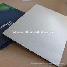 Painel composto de alumínio de 4mm PVDFTV Backboard