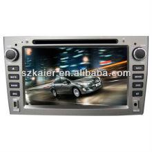 Wince 6.0 voiture multimédia central pour Peugeot 308/408 avec GPS / Bluetooth / Radio / SWC / Internet virtuel 6CD / 3G / ATV / iPod / DVR