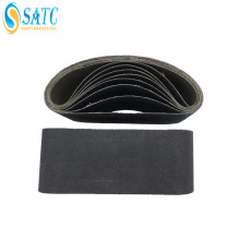 Wholesale silicon carbide sanding belt for belt sander for metal About
