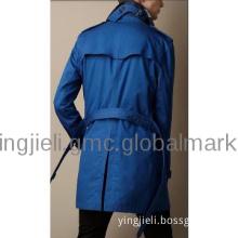 100% cashmere man long coat