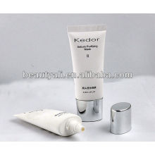 cosmetic packing plastic oval tube for facial mask