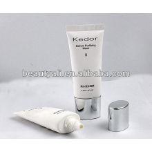 Embalagem cosmética tubo plástico oval para máscara facial