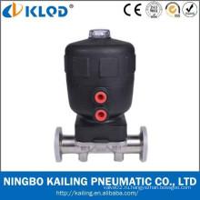 Резиновый мембранный клапан с пневматическим приводом KLGMF-20