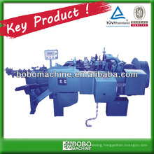 Automatic link chain bending machine