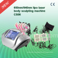 CS06 6 Handle Weigth Loss 650nm Diode Laser Machine