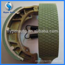 TH-90 motorcycle non asbestos drum brake shoes