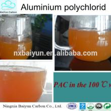 Traitement de l'eau potable produits chimiques poly aluminium chlroide PAC