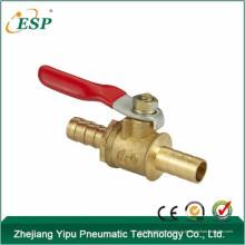 Китай ЭСП высокая температура БШ латунный шаровой клапан