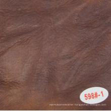 Hot Sale Oil Waxed Imitation Leather for Sofa Usage