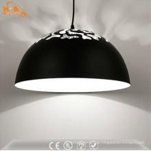 Lâmpada artística do diodo emissor de luz da lâmpada de suspensão do semicírculo artístico do hotel