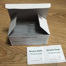 Esponja con alcohol Isopropy 70% con aprobación CE (DFS1001)