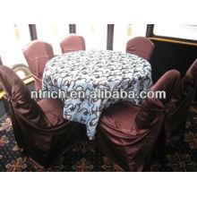 Couverture de chaise confortable salon satin, couverture de chaise de sac s'attacher pour banquet