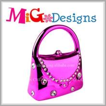 OEM Elegant Ceramic Bag Shaped Piggy Bank