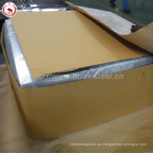 2.8 / 2.8gsm Recubrimiento Placa de estaño electrolítico para platos de cenas de estaño usado