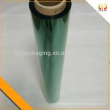ПЭТ-пленка зеленого цвета для мебели