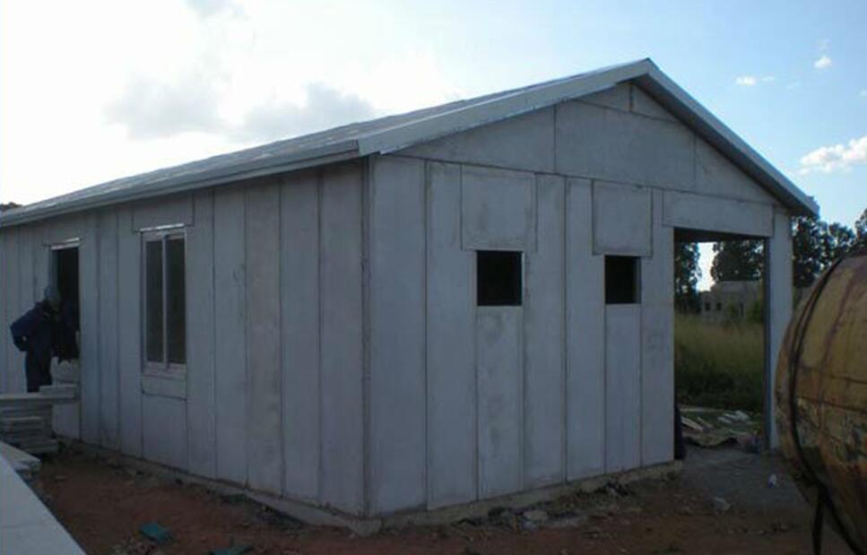 Low cost of modern prefab homes with concrete board