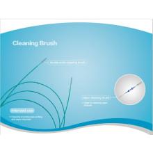 Desechables de doble canal terminado cepillo de limpieza