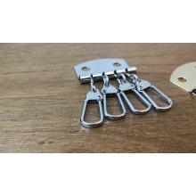 Pieza de la bolsa OEM Accesorios Gancho conjunto de Metal Key Holder