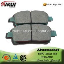 D990 corolla libre de asbesto pad de freno de disco