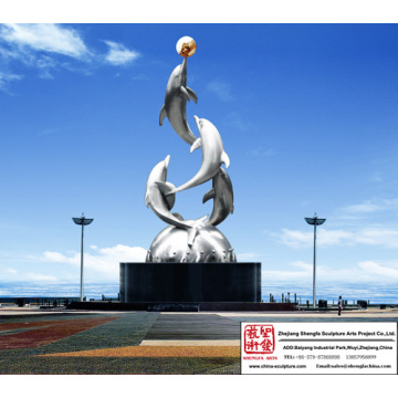 Magnificent Outdoor Stainless Steel Sculpture