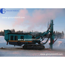 DE120 Air Compressor Built in Rock Drilling Machine