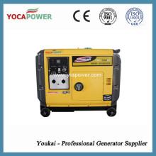 5.5kw generador ultra silencioso con nuevo tipo AVR
