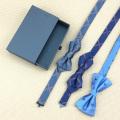 Black Drawer Custom Logo Bow Tie Gift Boxes