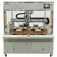 Machine de verrouillage à vis de porte Dragon HMI et PLC
