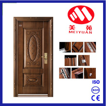 2017 Nouvelle conception Jordan Security Steel Door with Metal Paint