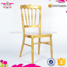 Nova cadeira de banquete de aluminio Qindao Sinofur