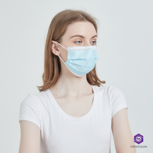 Disposable Face Shield Mask Non Woven Face Mask