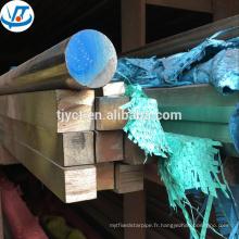 Tige carrée inoxidable 304/316 tige carrée en acier inoxydable prix par kg