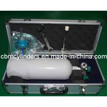 Medical Oxygen Kit (2L Steel Oxygen Cylinder Set)