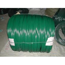 Arame farpado revestido do ferro do PVC