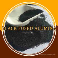 Grão fino e micro preto Alumina fundida para moagem e polimento
