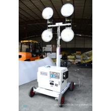 M500 Mobile LED Go-Cart Typ Notfall Diesel Generator Set Light Tower