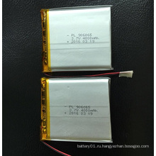 4000mAh литий-полимерная батарея 3.7V 906065 литий-ионная батарея