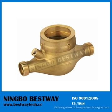 Corps de compteur d'eau des accessoires de mètre d'eau en laiton (BW-712)