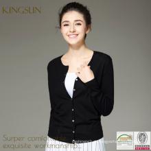 Strickjacke für Frauen, Schulstrickjacke, koreanischen Stil Black Sweater