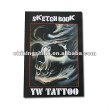Livre professionnel de conception de tatouage de crâne 2016
