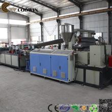 Máquina de fabricación de perfiles con doble tornillo WIC cónico