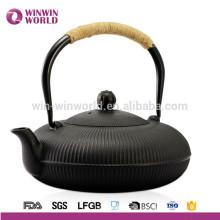 32OZ Edelstahl Tee Infuser Gusseisen Teekanne mit Beschichtung