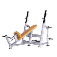 CE одобрил тренажерный зал используемых коммерческих наклонной скамье (люкс)