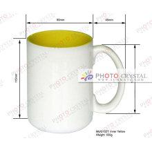 11oz Sublimation Inside Color Mug Coated Heater Press Mug