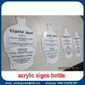 Полный Цвет Напечатал Знак Акриловая Бутылка