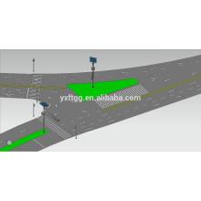 Pulver Beschichtung Traffic Stahl Signale Post zum Verkauf
