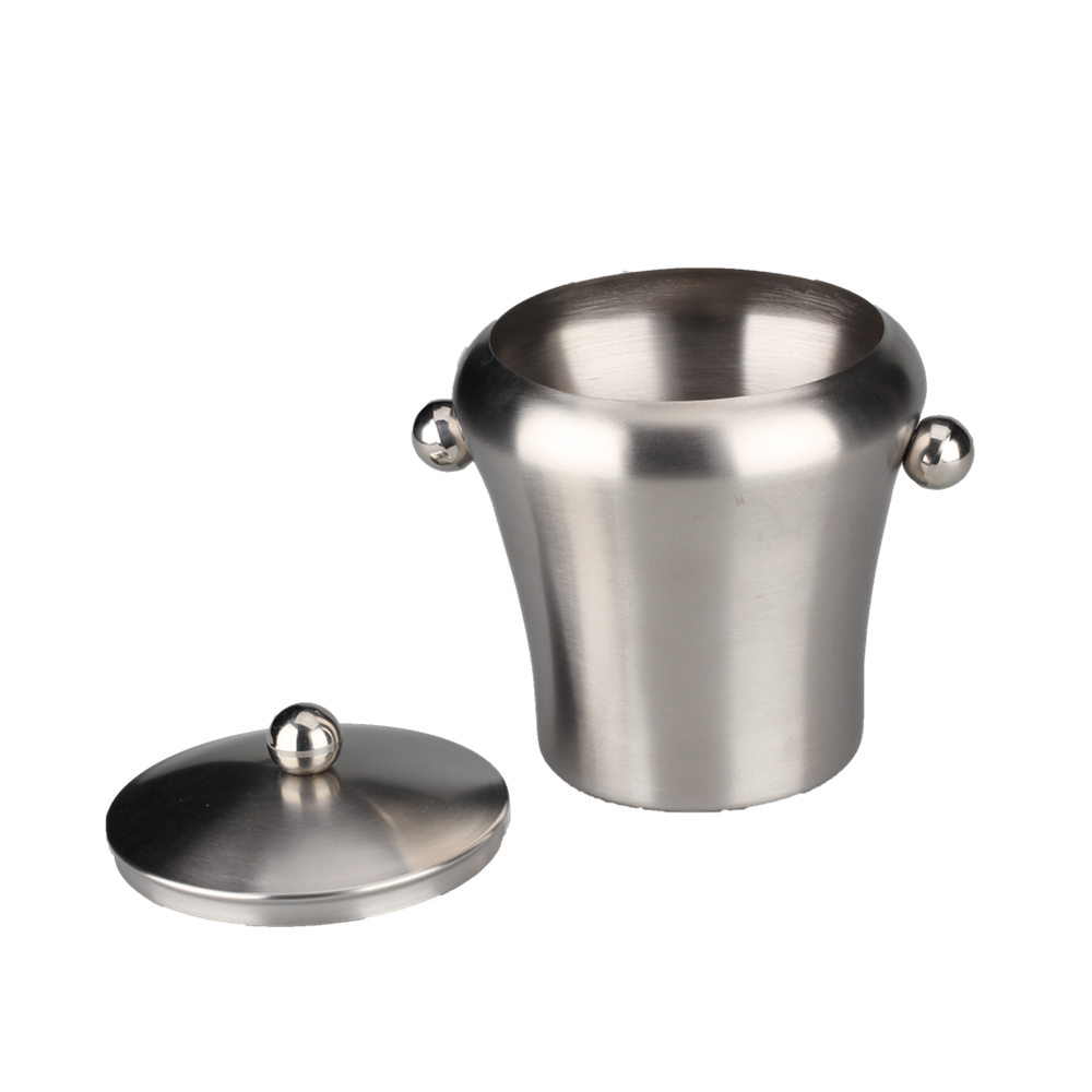 Ball Shape Handles Ice Bucket