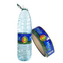 Eco-friendly Customized Printing Hot Melt Glue Bopp Labels For Water Bottle/Juice Bottle